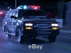 Jet Li Hero PROP futuristic SWAT team police van. Screen used movie chevy truck