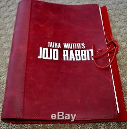Jojo Rabbit Movie Sam Rockwell Signed Autograph Screenplay Script Fyc For Your