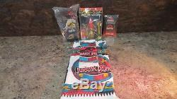 Jurassic Park 1993 Original Overnight Travel Kit, Towels, and Toothbrush set