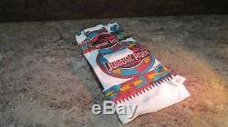 Jurassic Park 1993 Original Overnight Travel Kit, Towels, and Toothbrush set