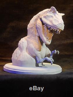 Jurassic Park 1st T-Rex Development Bust Produced at Amblin June 1990