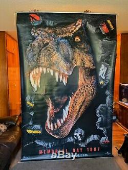 Jurassic Park The Lost World Movie 94 X 59.5 1997 3D Vinyl Poster / Banner