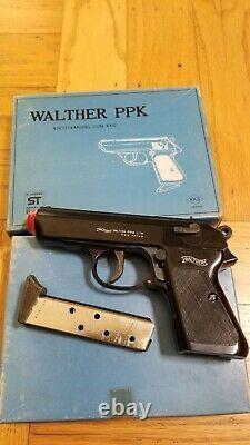KKS MARUSHIN MGC MODEL GUN PROP WALTHER PPK JAMES BOND PISTOL 70s JAPANVINTAGE