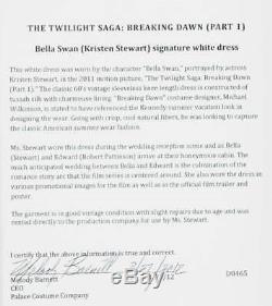 Kristen Stewart Screen-Worn Dress The Twilight Saga Breaking Dawn Part I
