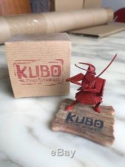 Kubo Two Strings Hanzo Origami Laika crew gift paranorman Coraline boxtrolls