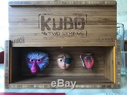 Kubo Two Strings Laika crew gift prop promotional paranorman Coraline boxtrolls