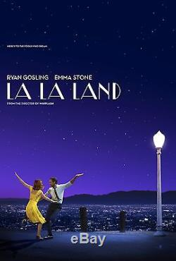 LA LA LAND D/S Movie Poster Original 27x40 DS Emma Stone Ryan Gosling