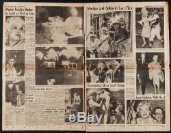 LA TIMES ORIGINAL rare full Newspaper 1962 DEATH of MARILYN MONROE