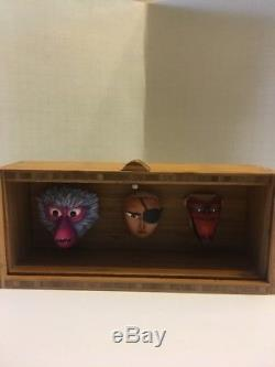 LAIKA Kubo and the Two Strings Screen Used Puppet Animation Face Set