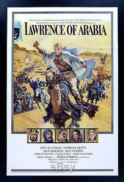 LAWRENCE OF ARABIA CineMasterpieces ORIGINAL MOVIE POSTER STYLE A CAMEL 1962