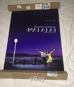La La Land Movie Poster 27 X 40 Double Sided Original