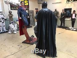 Life Size DC Comics Batman vs Superman Full Size Statues
