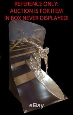 Life Size Marvel Silver Surfer Movie Theater Display FullSize Prop NIB RARE #572