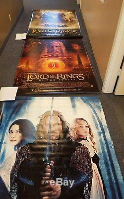 Lord Of The Rings Original Movie BANNER 3 Pieces