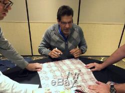 Lou Ferrigno TV Screen Worn Incredible Hulk & Autographed Shirt ASI Proof