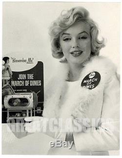 Marilyn Monroe March Of Dimes 1958 Beautiful Original Vintage Photograph