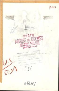 MARILYN MONROE ORIGINAL VINTAGE 1953 ANDRE DE DIENES oversize dblwt photograph