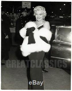 Marilyn Monroe Rose Tattoo 1955 Premiere Glamorous Vintage Original Photograph