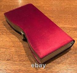 MARILYN MONROE Worn, Used, & Owned Clutch Red Purse Provenance Letter LOA COA