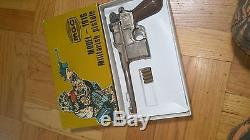 Mgc Rmi C96 Mauser Broom Handle Replica Gun Pistol Metal Dl-44 Han Solo Blaster