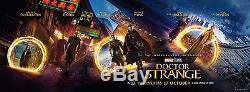Marvel DOCTOR STRANGE Original 12X4' Horizontal US Movie Theater Lobby Banner