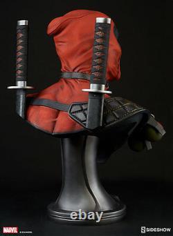 Marvel Sideshow Deadpool 11 Scale Bust Statue Figure Prop Replica X-force X-men