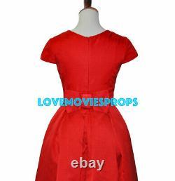 Me Before You Emilia Clarke Screen Worn Iconic Red Dress Costume Marilyn Monroe