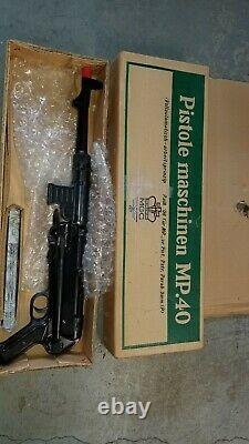 Mgc Mgc68 Mp40 Brand New Never Used Machine Pistol Cap Gun In Original Box