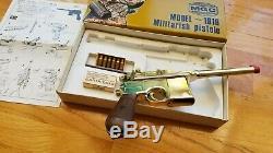 Mgc Rmi Mauser Model M1916 C96 Base Han Solo Blaster Dl-44 Pistol Broom Handle