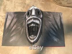Mister Babadook Pop Up Book Signed Rare OOP First Edition NO RESERVE
