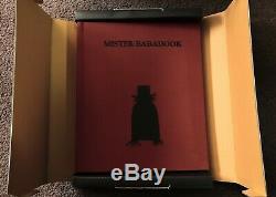 Mister Mr The BABADOOK Pop-Up Book with Original Box Beautiful ARTWORK