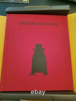 Mister Mr The BABADOOK Pop-Up MINT Book with Original Box