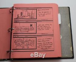 Moonwalker / Michael Jackson 1988 Original Movie Storyboards used by Cast & Crew