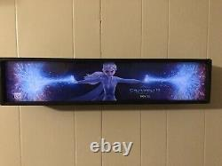 Movie Theater Mylar/ Poster Lightbox 5 X 25 inches