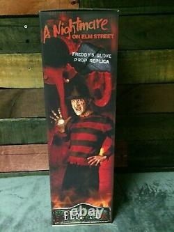 NECA Nightmare On Elm Street Freddy Krueger Adult Prop Replica Glove 1984 Movie