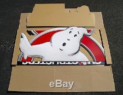 NIB Original 2016 Ghostbusters Movie Theater Standee Cardboard Cutout 98 Tall