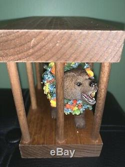 New A24 Midsommar Bear In A Cage Figure, Official Limited Edition Only 75 Exist
