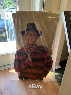 New Old Stock, 1989 Freddy Kruger Standee Nightmare On Elm Street
