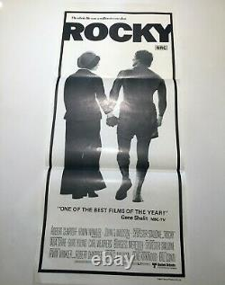 ORIGINAL 1977 Australian Rocky daybill movie poster Sylvester Stallone unused