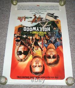 Once Upon A Time In Hollywood Original Movie Poster S/S 27x40