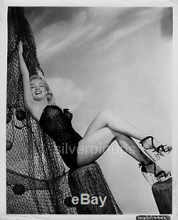 Orig 1951 MARILYN MONROE in Swimsuit. RARE PIN-UP Portrait by PHIL BURCHMAN