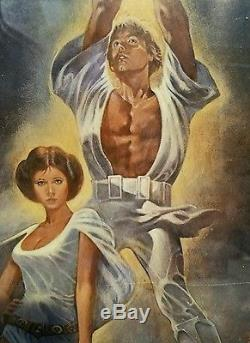 Original 1977 Star Wars Poster Style A 77/21