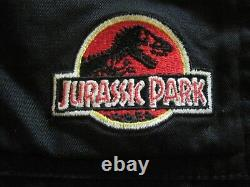 Original 1993 Jurassic Park Film Cast & Crew Jacket Size Large Rare Piece