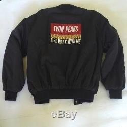 Original Cast & Crew Jacket Twin Peaks Fire Walk With Me by David Lynch