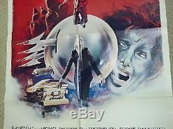 Original Classic 1979 Phantasm Scary Horror Movie Poster One 1 Sheet 27 X 41