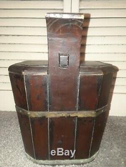 Original H Potter Asian Wooden Box Prop Secret To Open Weird Shop B&b Incredible