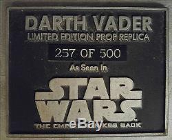 Original Licensed Life Size Darth Vader Star Wars by Lucas Enterprises #257