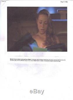 Original Mariah Carey GUARANTEED Screen Worn Overcoat from Glitter