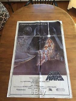 Original Star Wars (1977) Movie Poster
