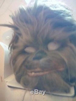 Original Star Wars chewbacca mask movie prototype